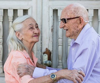 65 years of marriage and as in love as ever