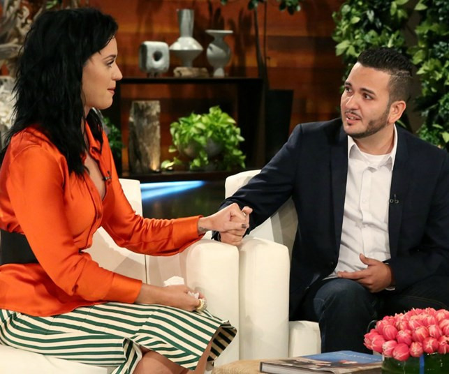 katy perry ellen orlando shooting survivor