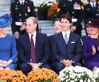 Huge crowds gather for Kate and Will in Canada