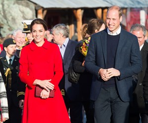 The Duke and Duchess of Cambridge in Yukon