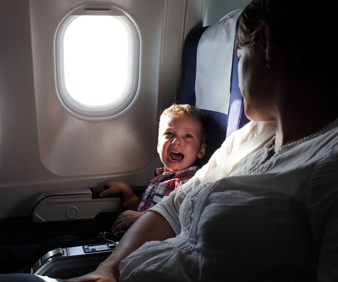 Should all planes have kid-free zones?