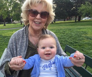 """I'm so lucky to have them"": Patti Newton gushes over her grandkids"