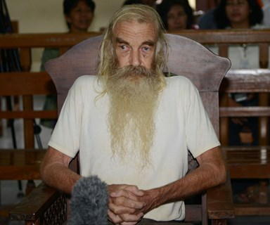 Bali: Australian paedophile Robert Ellis sentenced to 15 years' jail