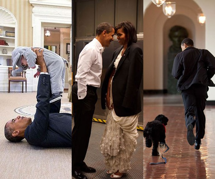 Official White House photographer picked his favourite Obama pictures and they'll make you melt