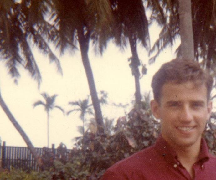 This picture of a young 39 hot 39 joe biden is turning heads for Young joe biden