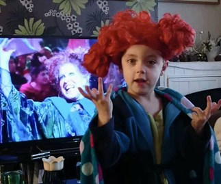 5-year-old's amazing rendition of 'I Put a Spell On You'