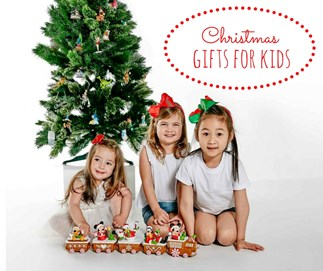 Christmas gift guide for kids with Disney Christmas Express train