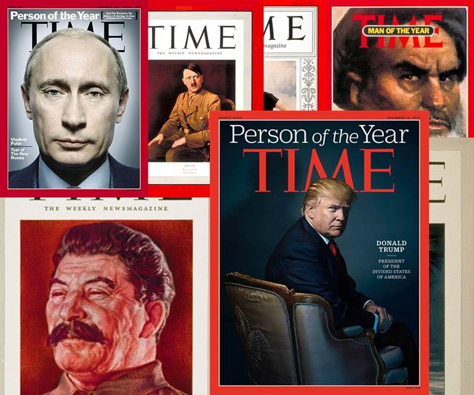 Man of the Year: Donald Trump and other controversial TIME honourees