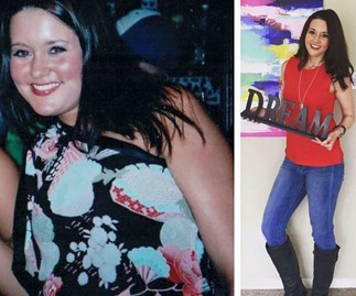 Kelsey Byers' body transformation eating more calories than ever before