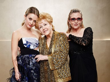Carrie Fisher's daughter posts a touching tribute to her late mother and grandmother