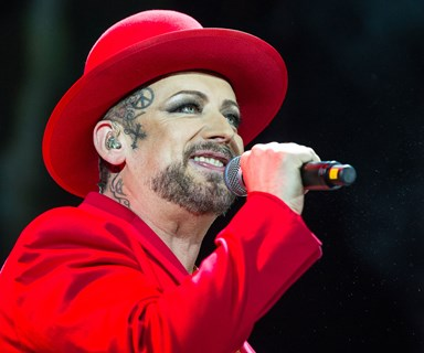 Boy George calls out George Michael's partner Fadi Fawaz over Twitter hack