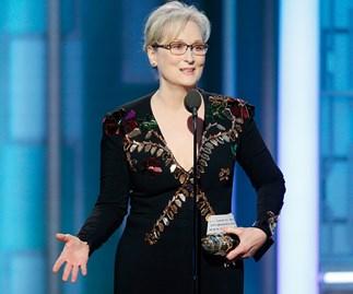 Meryl Streep's moving Cecil B. DeMille Award acceptance speech.