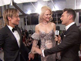 Keith Urban snubbed by E! host Ryan Seacrest