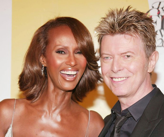 Iman's stunning tribute to David Bowie on the anniversary of his death