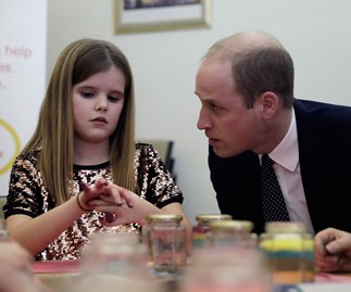 Prince William's honest words to a girl who lost her dad