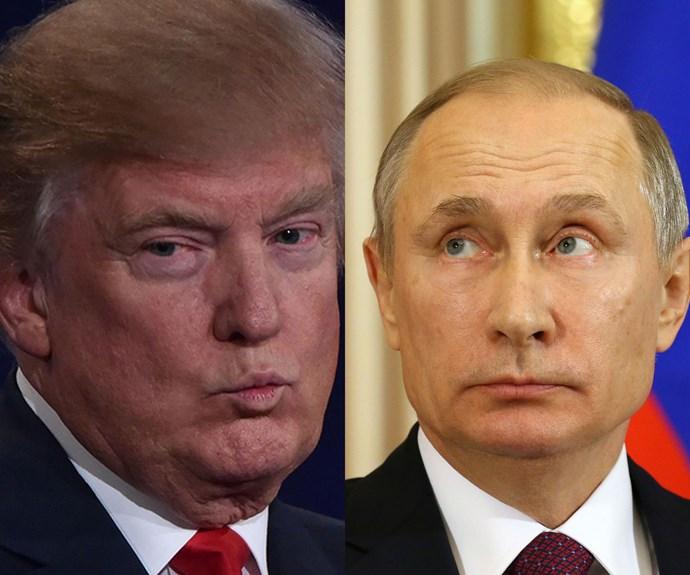 Putin: Donald Trump's political enemies 'worse than prostitutes'
