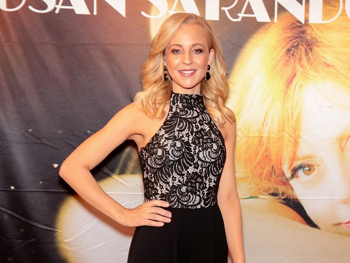 Carrie Bickmore admits she has grey hair