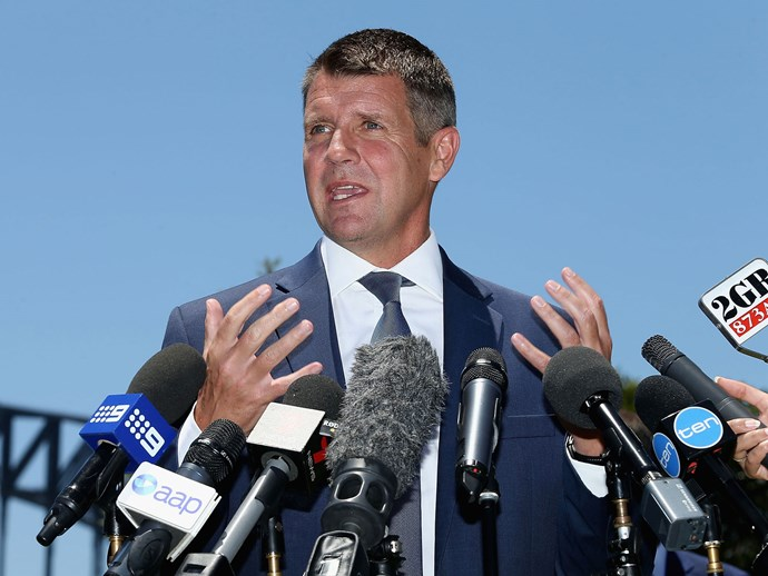 NSW Premier Mike Baird resigns from politics