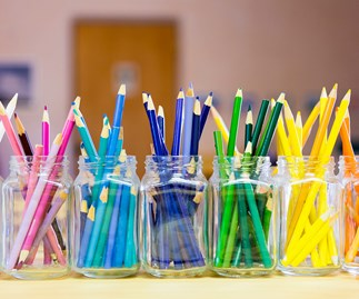 Woman spends $600 on kids' stationery for school.