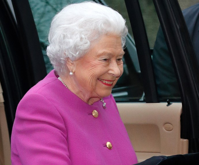 Queen Elizabeth 11's first official engagement since falling ill in December.