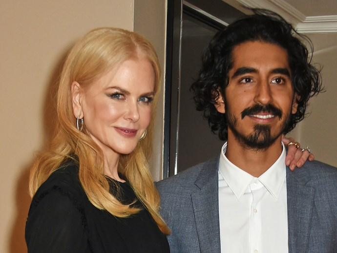Nicole Kidman and Dev Patel at a Lion screening