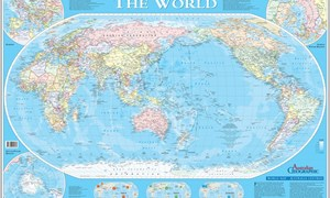 Maps australian geographic australia centric world map gumiabroncs Image collections