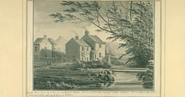 The south east view of a house that Captain Cook's father built in Great Ayton. (Credit: George Cuit)