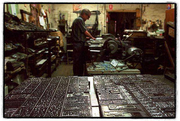 GALLERY: Hot metal printing & the rural press