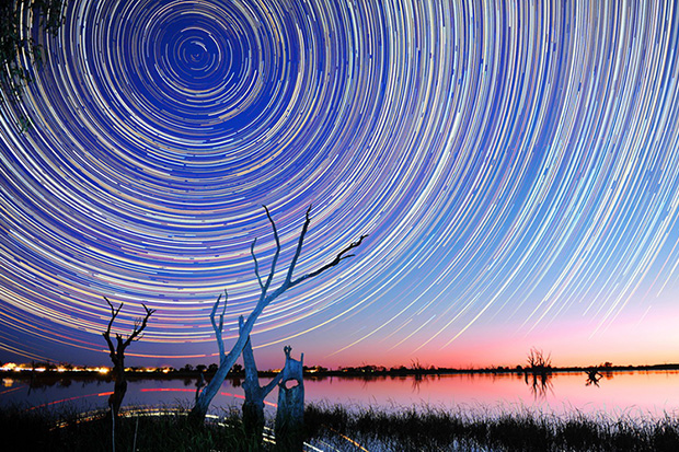 how to create star trails