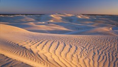 New research suggests the Nullarbor Plain was once covered in fast-flowing rivers. (Credit: Getty Images)