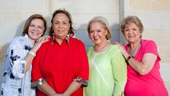 The real sapphires Lois Peeler, Naomi Mayers, Laurel Robinson and Beverley Briggs
