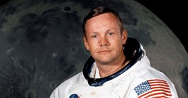 Neil Armstrong in 1969. (Credit: NASA)