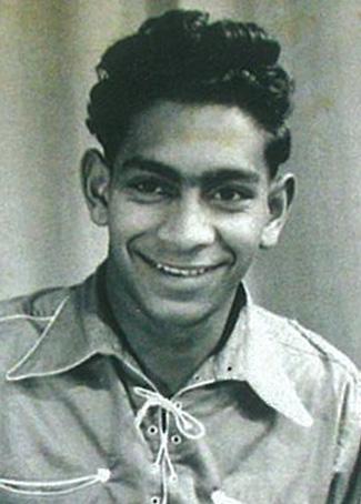 Jimmy Little aged 16