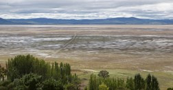 Lake George, north of Canberra, after heavy rains in February 2010. (Credit: AAP/Andrew Taylor)