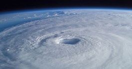 Hurricane Isabel as seen from the International Space Station in 2003 (Photo: NASA/Mike Trenchard/Johnson Space Center).