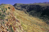 Along the Larapinta Trail in the Northern Territory. (Photo: Warren Field)