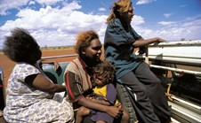 Aboriginal people in remote areas are happier than their city counterparts, says a new report. (Photo: David Dare Parker)