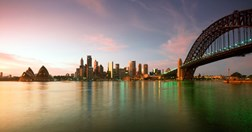 Sydney harbour skyline (Getty)