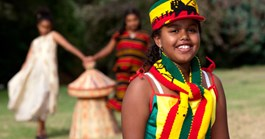 Betanya Makonnen is part of the Ethiopian community producing the festival (Photo: Rodney Start, Museum Victoria)
