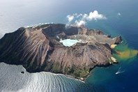 White Island is an active marine volcano in the Bay of Plenty. (Credit: wikimedia commons)