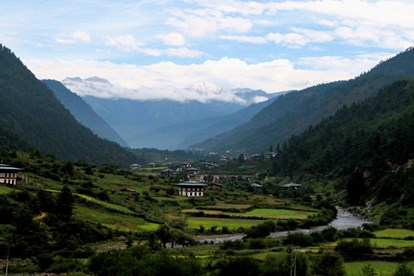 Haa Valley is a narrow alpine valley in the Haa district of Bhutan. (Credit: Douglas J. McLaughlin)