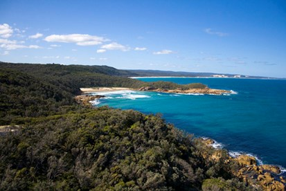 The 100 km Wilderness Coast Walk is in the Croajingalong National Park, Gippsland, Victoria. (Credit: Joanna Egan)