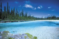 A natural pool in beautiful New Caledonia