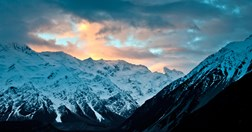 Just outside of Mt Cook Village on NZ's South Island, on TNF NZ ski team trip 'The Whole Nine Yards'. (Photo: Incite Images)