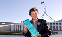 2010 Australian of the Year, businessman and philanthropist Simon McKeon. (Photo: AAP)