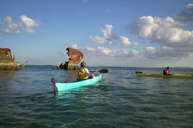 10 besst kayak day trips australia