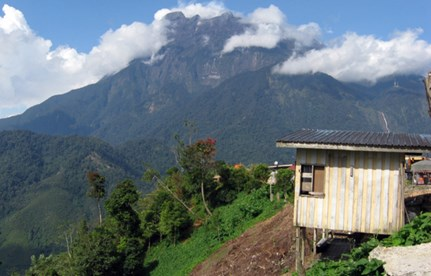 Mt Kinabalu, in Borneo, is Southeast Asia's highest mountain and can be climbed year round. (Photo: T0lk/Wikicommons)