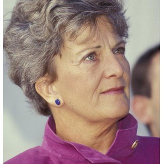 Hazel Hawke (1929 - 2013) campaigned to raise awareness for Alzheimer's disease. (Credit: Getty)