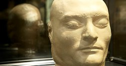 Ned Kelly's death mask taken after his hanging at Melbourne Goal. (Credit: The National Trust of Australia)