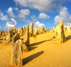 The Pinnacles Desert in WA (Photo: John Pickrell)